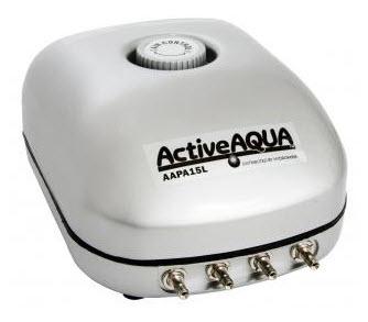 Hydrofarm Quiet Aquarium Air Pump